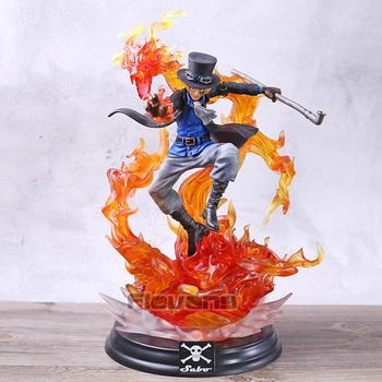 One Piece Sabo with Flame Dragon GK Statue PVC Figure Collection Model Toy