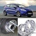 4 pcs 4X108 Espaçadores de Roda Adaptadores Hubcenteric 63.4CB 25mm de Espessura Para Ford Fiesta 2009 +