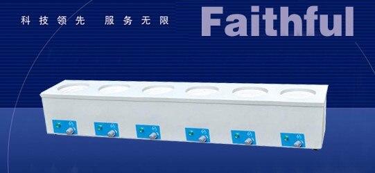 все цены на Laboratory Six Rows Electronic Control Heating Mantles,500ML  Capacity !Max Temp 450 degree, ! Free Shipping ! онлайн