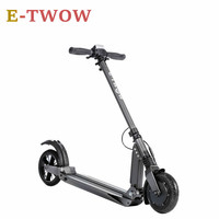 Original E Twow S2 BOOSTER Powerful Electric Scooter 10 8kg Weight Two Wheel Foldable Smart Hoverboard