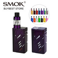 100 Original 220W SMOK T Priv TC Vape Kit With 5ml TFV8 Big Baby Tank Atomizer