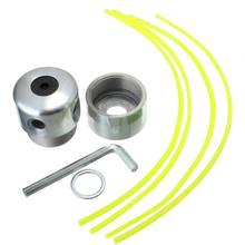 Lawn Mower Mowing Head Aolly Trimmer Head Aluminum Grass Trimmer Head Cutting Line Strimmer For Brushcutter Lawn Mower цена