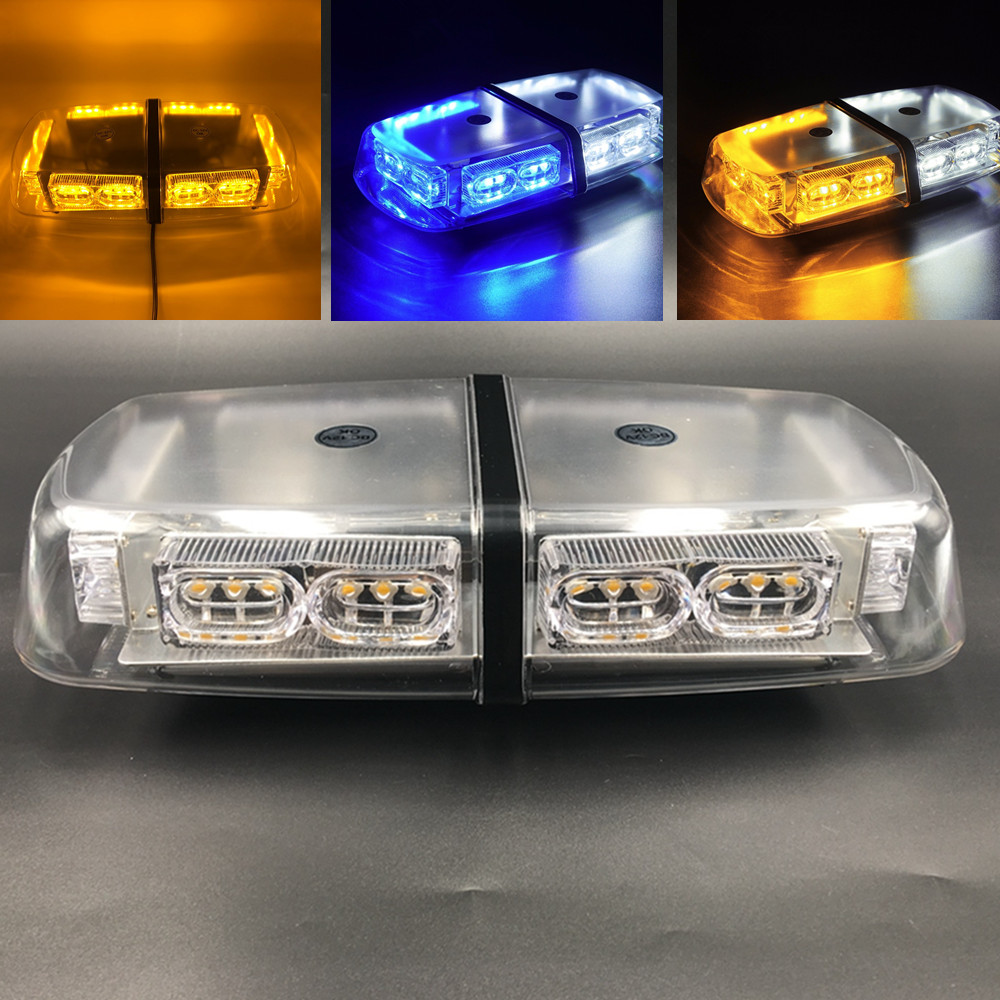 36W 36 LED Car Truck Strobe Flash beacon Warning light Magnetic Flashing Emergency Bar Police Roof
