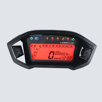 Motorcycle instrument modification LCD watch modified meter speed gear meter LCD for M3