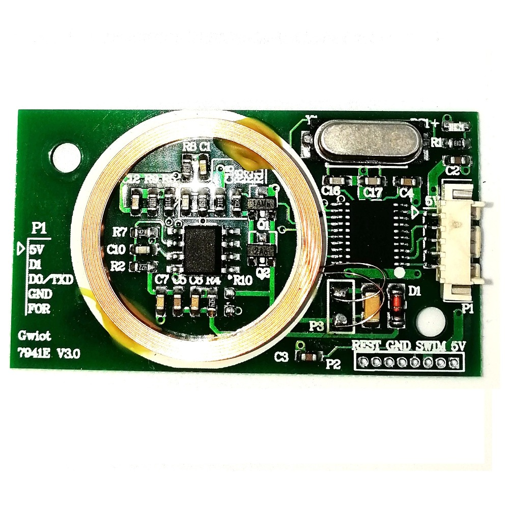 125khz Embedded module ID card reader for parking access control card reader attendance WG26/34 or serial port/Uart
