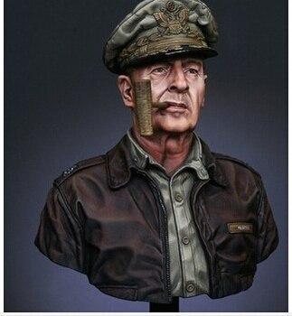 Масштабные модели 1/10 WW2 сша генерал дуглас макартур второй мировой войны смола бюст бесплатная доставка