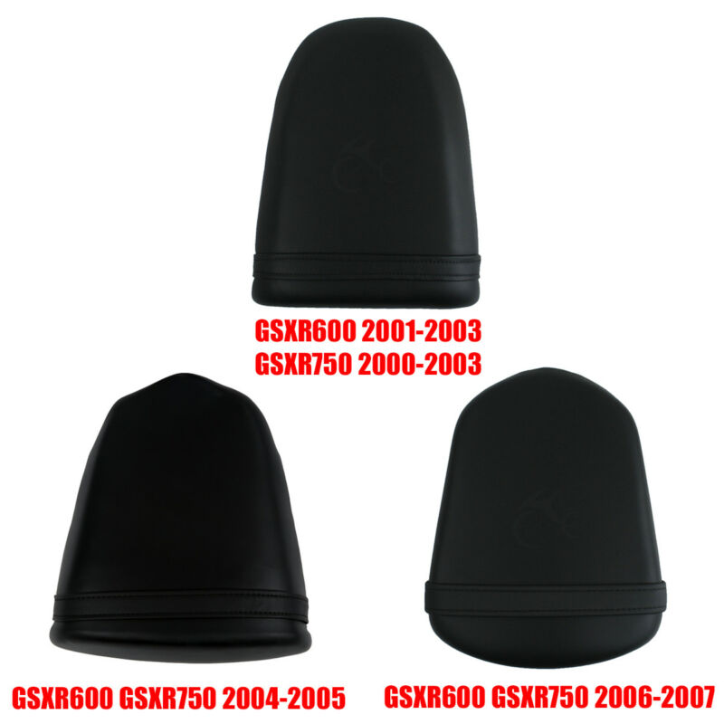 Motorcycle Rear Passenger Pillion Seat For Suzuki GSXR600 2001-2007 GXSR750 750 2000-2007