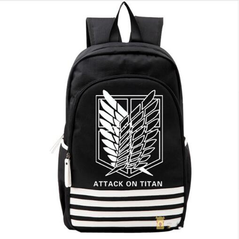 Shingeki no Kyojin Scouting Legion Oxford Schoolbag Attack on Titan Japan Anime Cosplay Backpack Shoulders Bag for Students Gift japan anime attack on titan brinquedos shingeki no kyojin legion levi juguetes pvc action figure model collection toys doll