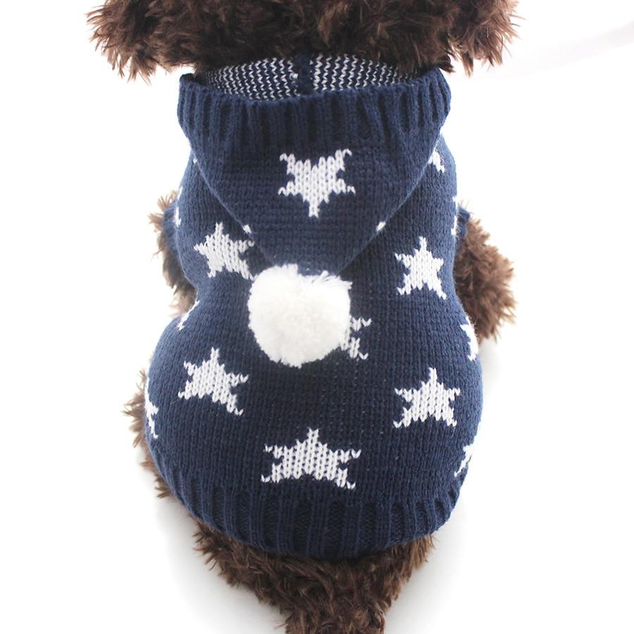 კატა ძაღლი ზამთრის სვიტრი - შინაური ცხოველების საქონელი - ფოტო 3