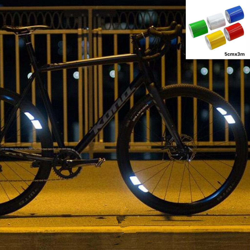 Minimalist 360°Visibility Bike Reflectors Bicycle Wheel Spoke Light Reflective