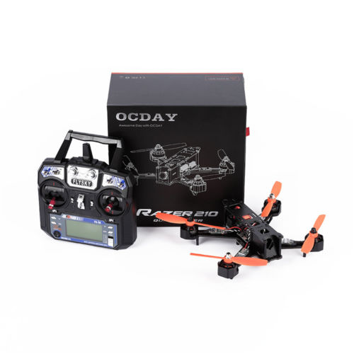 OCDAY FPV RTF RAZER 210 Quadcopter Carbon Fiber Left Hand Throttle радиоуправляемый инверторный квадрокоптер mjx x904 rtf 2 4g x904 mjx