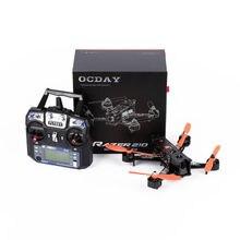 OCDAY FPV RTF RAZER 210 Quadcopter Carbon Fiber Left Hand Throttle