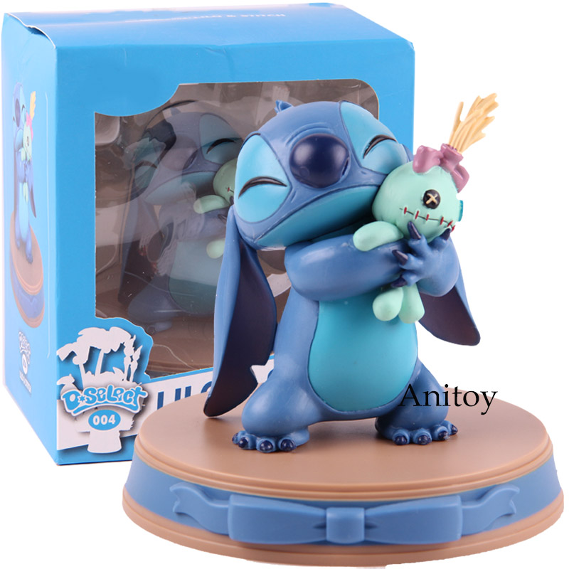 Lilo & Stitch Figure Action Stitch And Scrump Happiness Moment Beast Kingdom D-Select 004 PVC Collectible Model Toy