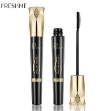 FRESHME Fiber Lash Mascara For Eyelashes Extension Black Thick Length Long Curling 4d Eye Lashes Rimel Makeup Cosmetic
