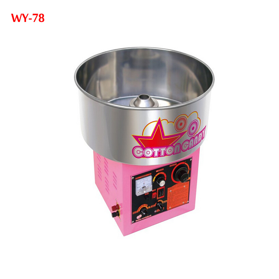 1 piece Electric /Gas (can choose one model )  cotton candy machine cotton floss machine WY-78 one piece machine xp3 16rt 12