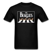 Cute Beaglesdog Beagle Street Top T-shirts Not Today Corgi Dog Summer/Fall Men Tops Shirts Crazy Tee-Shirt O Neck 100% Cotton