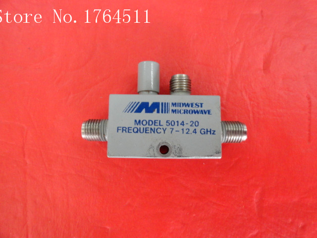 [BELLA] MIDWEST 5014-20 7-12.4GHz Coup:20dB SMA Coaxial Directional Coupler