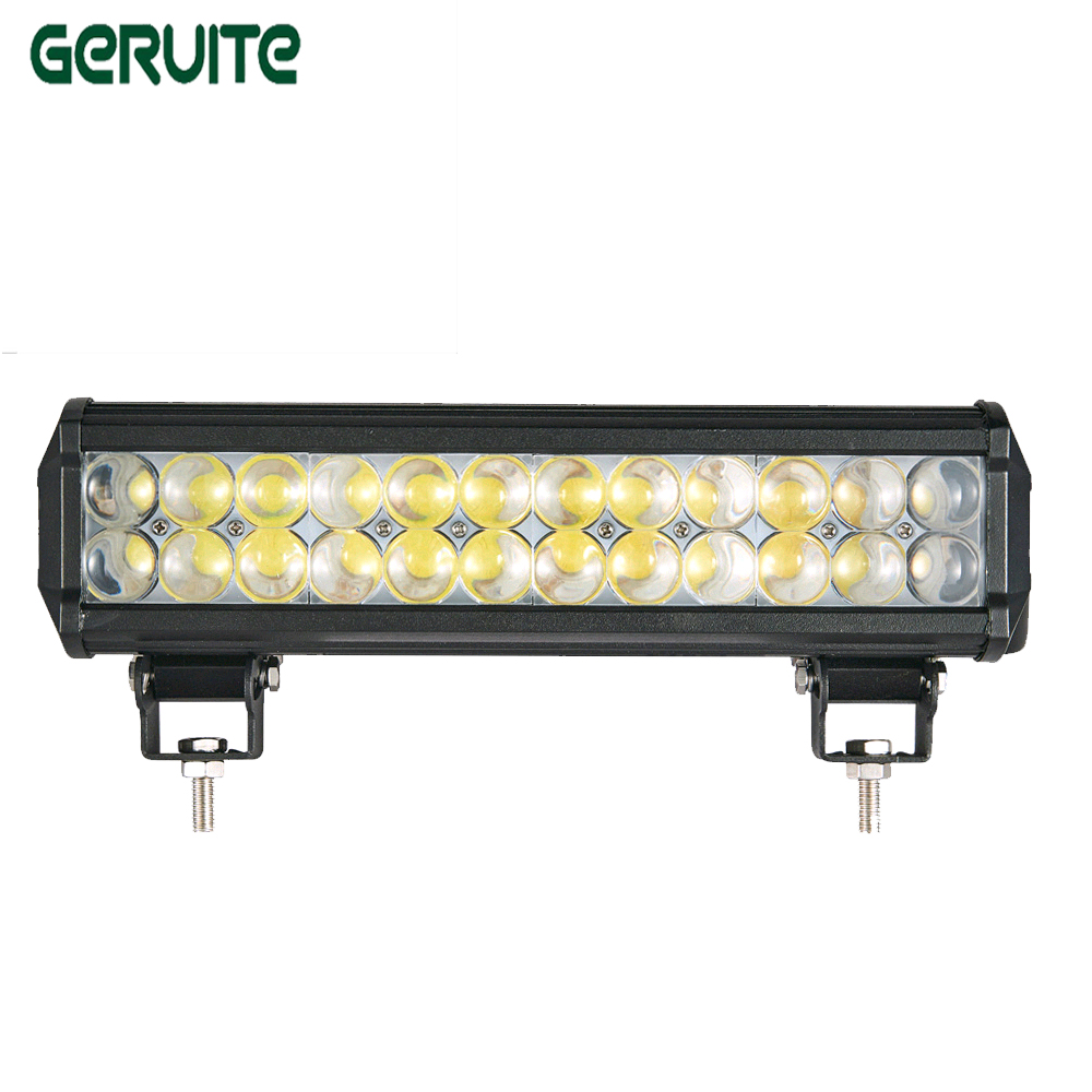 2PCS 4D 72W LED Light Bar 24*3W for Work Indicators Driving Off-road Boat Car Tractor Truck 4x4 SUV ATV Spot Flood lamp car hot 21 120w led light bar for off road indicators work driving offroad boat car truck 4x4 suv atv fog spot flood combo12v