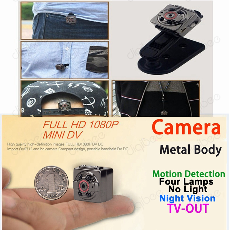 New Mini DV MP Full HD P P Infrare Night Vision Camera
