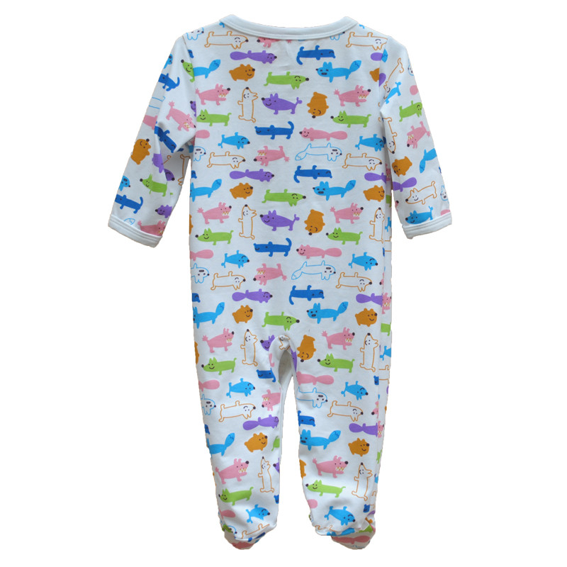 Brand Newborn Baby Clothes Cute Cartoon Baby Costume Girl Boy Jumpsuit Clothing Spring Autumn Cotton Romper Body Baby Clothes 6