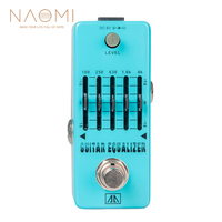 NAOMI Guitar Effect Pedal Aroma AEG 5 5 Band Graphic EQ Equalizer Guitar Effect Pedal True Bypass Guitar Parts & Accessories