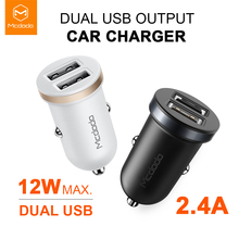 Mcdodo 12W Fast Charging Dual Mini USB Car Charger Mobile