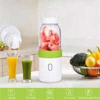 Electric Fruit Juicer Cup USB Rechargeable Juice Blender Mini Travel Picnic Fruit Juicer Smoothie Machine Solid Foods Maker 0
