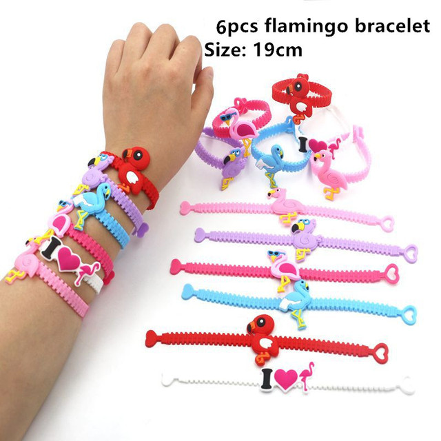 6pcs F bracelet Mermaid party plates 5c64f5cb3123b
