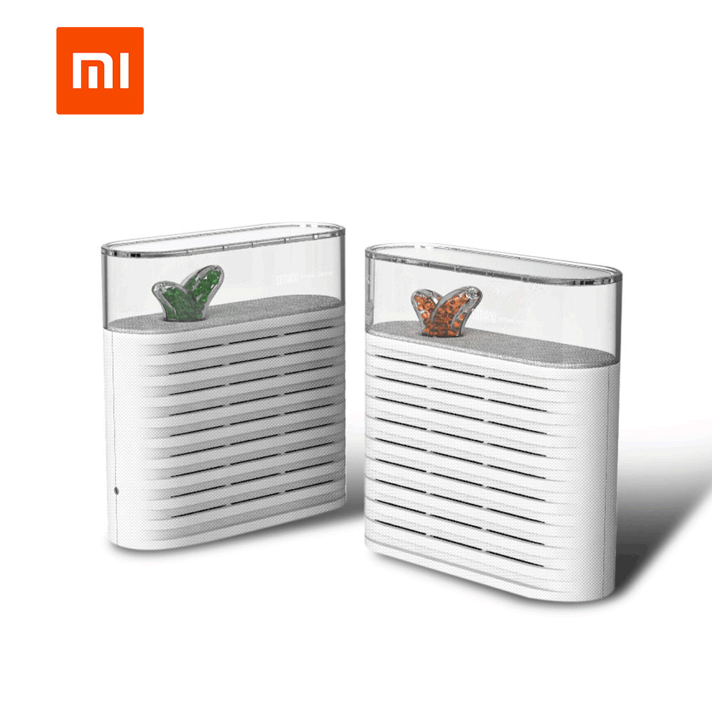 Original XIAOMI Mijia SOTHING Portable Plant Air Dehumidifier 150ml Rechargeable Reuse Air Dryer Moisture Absorber