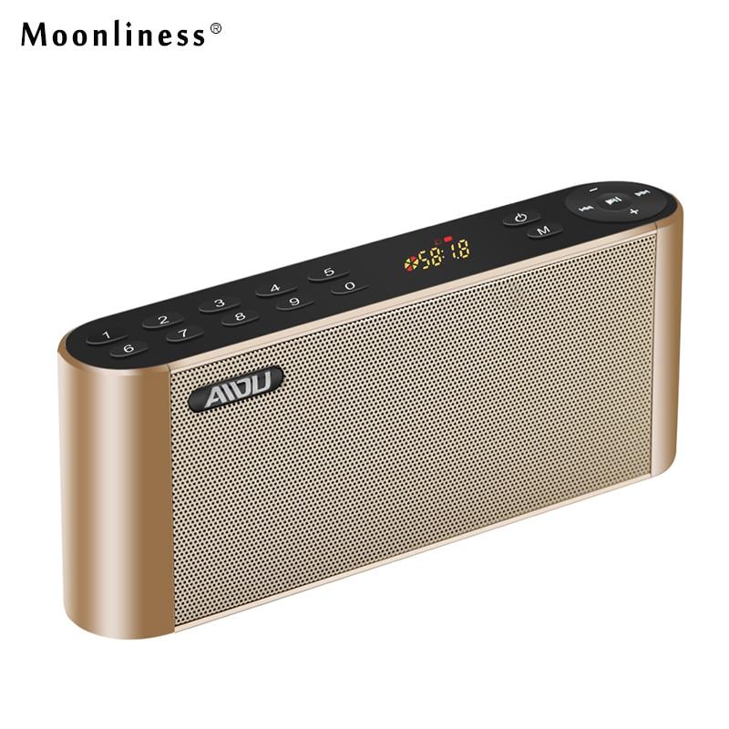 Moonliness Q8 Bluetooth Speaker Portable