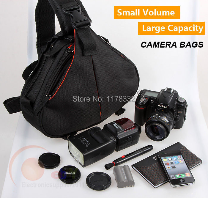 K1 Shoulder Camera Bag Video Portable diagonal Triangle Carry CaseCamera Shoulder Strap for 5DMarkIII 5DMarkII 7D 60D D600