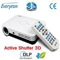 2016 Новое прибытие! 3500 люмен LUXCINE Z2 full HD 1080 P мини СВЕТОДИОДНЫЙ DLP Активных Затвора 3D DLP proyector с 2 * HDMI/VGA/USB/TF/AV