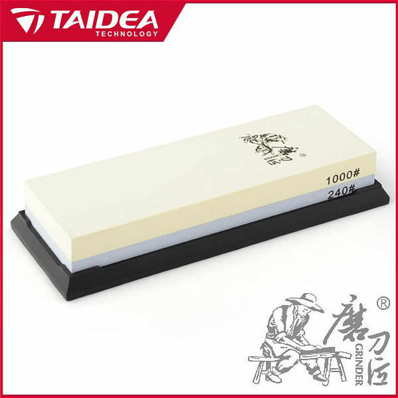 Taidea T6124W double sides Sharpening Stone 240# / 1000#  whetstone h1