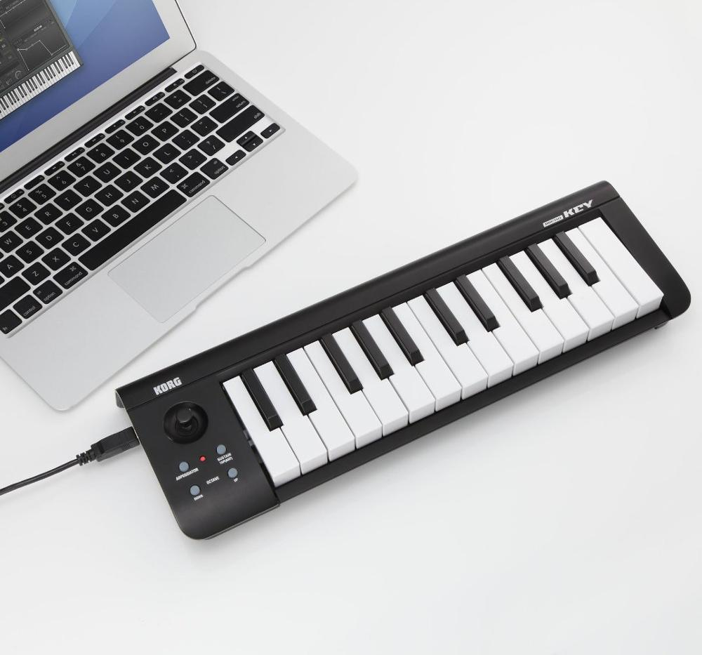 korg microkey25 usb midi keyboard controller synthesizer cable drum electric digital piano organ. Black Bedroom Furniture Sets. Home Design Ideas