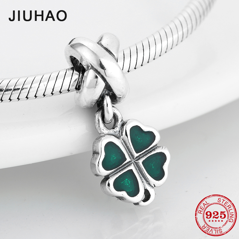 Hot 925 Sterling Silver Green Enamel Heart charm Pendants Beads Fit Original Pandora Bracelet Necklace DIY Jewelry makingHot 925 Sterling Silver Green Enamel Heart charm Pendants Beads Fit Original Pandora Bracelet Necklace DIY Jewelry making