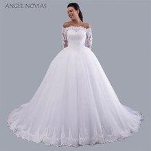 Angel Novias Ball Gown Wedding Dresses 2018 Bridal Gown