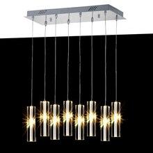 Современные светодиодные Кухня подвесной светильник подвесной Освещение для обеденной подвесной светильник салон современный подвесной светильник Обеденная светодиодные лампы
