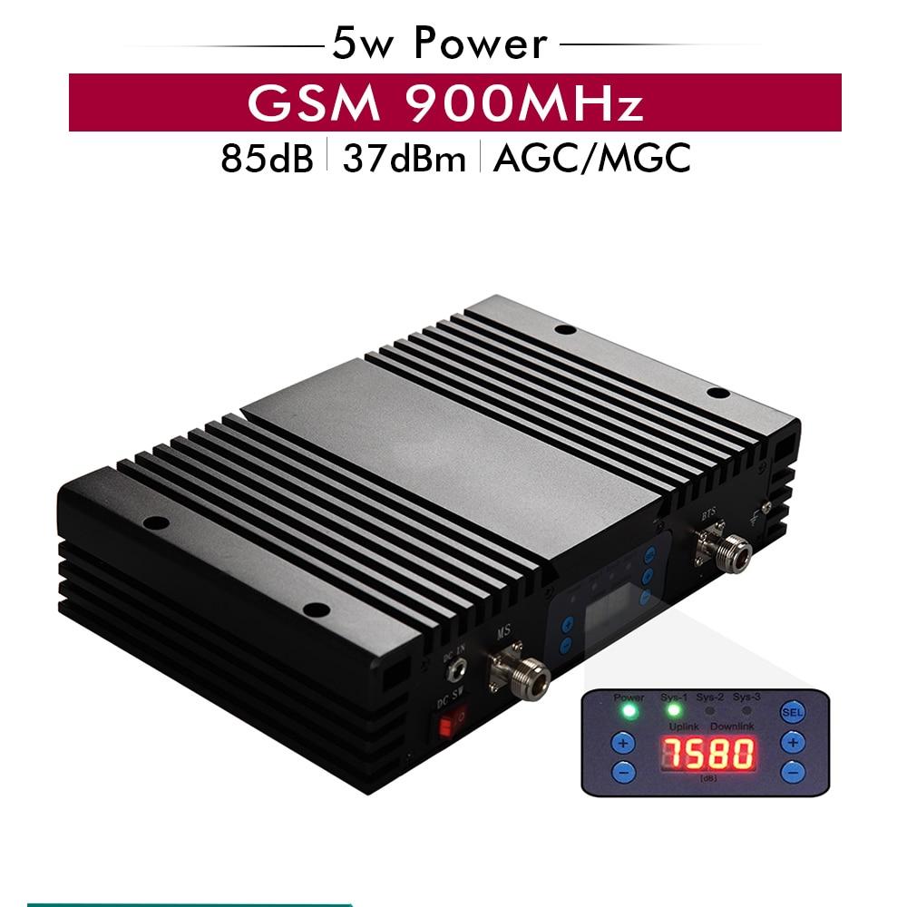 Puissant amplificateur de Signal de téléphone portable 5 w 37dBm 2G GSM 900 mhz amplificateur de Signal GSM 900 mhz