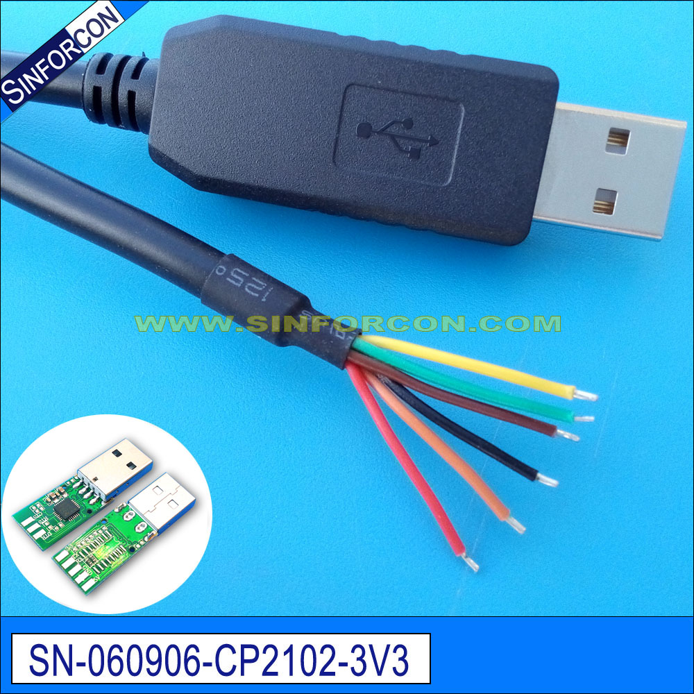 silabs CP210x USB to UART bridge adapter flash cable for set top box ...