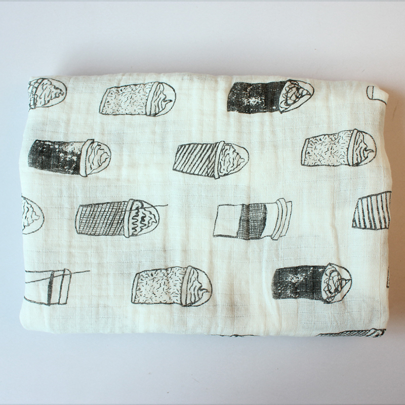 115 * 115cm Ręczniki kąpielowe Wielofunkcyjny Miękki Niemowlę - Opieka nad dzieckiem - Zdjęcie 6