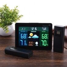 温度計 2 屋内屋外温度モニタデジタルウェザーステーション ワイヤレスセンサー