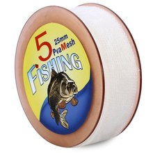 Hot!! High Quality PVA Carp Fishing Mesh Universal Refill Stocking Bait Bags Frame Mesh Crab Fish Net Fishing Landing Net White
