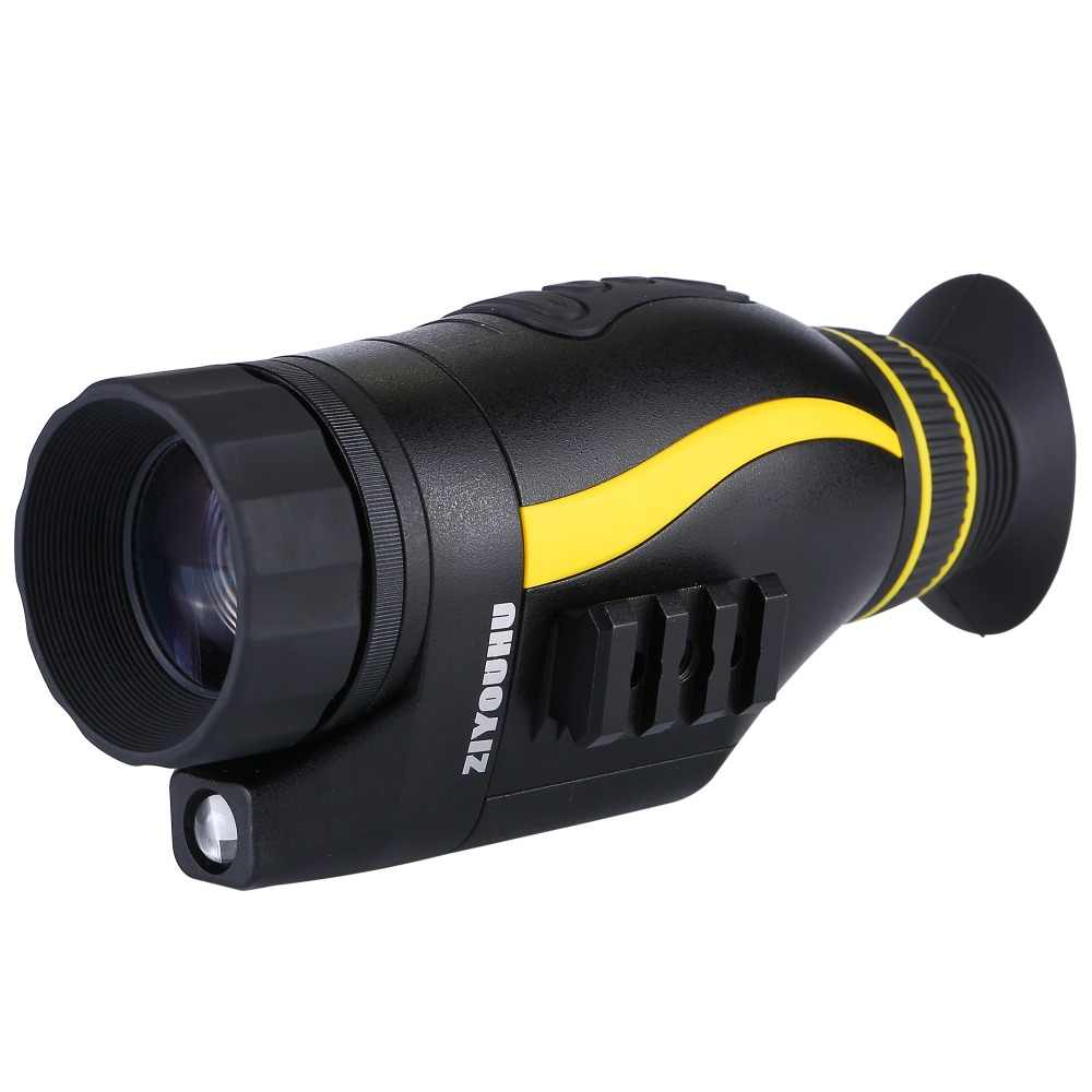 أحدث منظار رقمي عالي الدقة 4X35 رؤية ليلية بالأشعة تحت الحمراء تلسكوب أحادي العين للصيد كشاف كاميرا ليلية جهاز محمول باليد