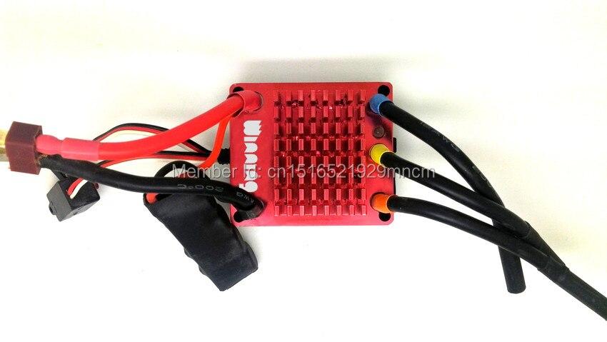 Monopatín eléctrico en el kit del motor de la rueda para longboard incluyendo ESC y remotes - 5