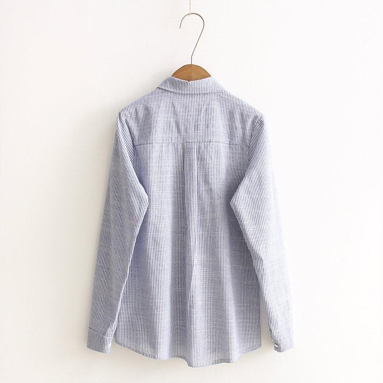 HTB1vd5JNVXXXXctXXXXq6xXFXXXW - Cute Rabbit Embroidery Blouses 2016 Long Sleeve Shirt Women