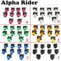 10 unids Scooters Motocicleta Trabajo Corporal Carenado Tornillos Tuercas M6 6 MM Spire Velocidad Clips De Fijación de Tornillo para Yamaha Honda KTM Aprilia RSV4