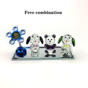 Image 2 - Ücretsiz kombinasyon araba bebek yaratıcı araba dekorasyon Araba Süsler Otomatik Iç Dekorasyon araba aksesuarları Kristal Malzeme