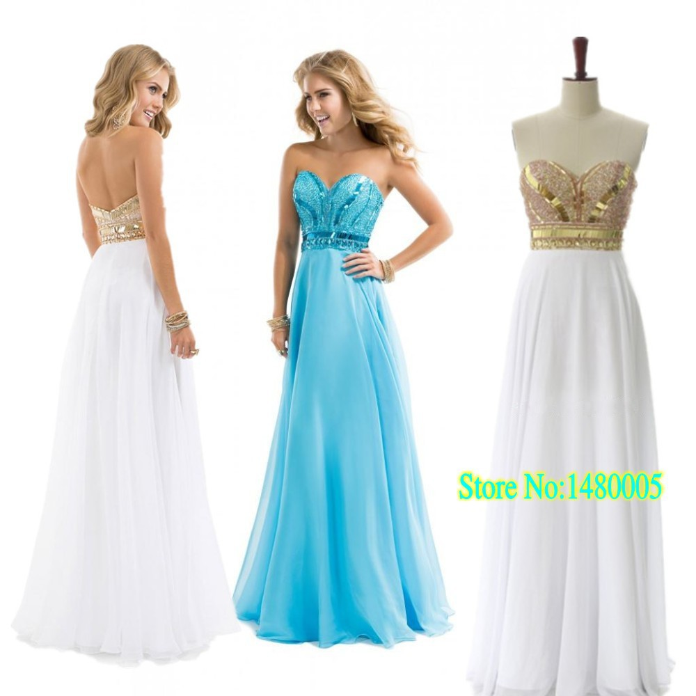 Perfect White Gold Prom Dresses Component - All Wedding Dresses ...