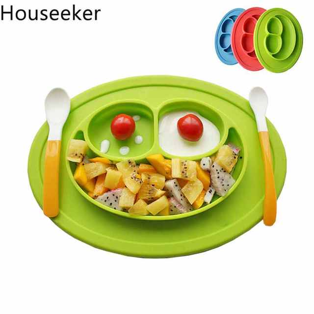 All-in-One Silicone Plate & Placemat