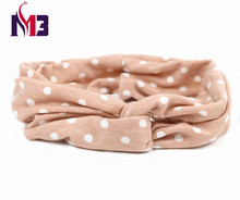 Fashion Women Twist Headband Tie Hair Band Hoop Stretch Knitted Dot Headband for Women Hair Ornaments Accessories japan and south korea hair ornaments head ornaments pearl ribbon headband hair hoop headband